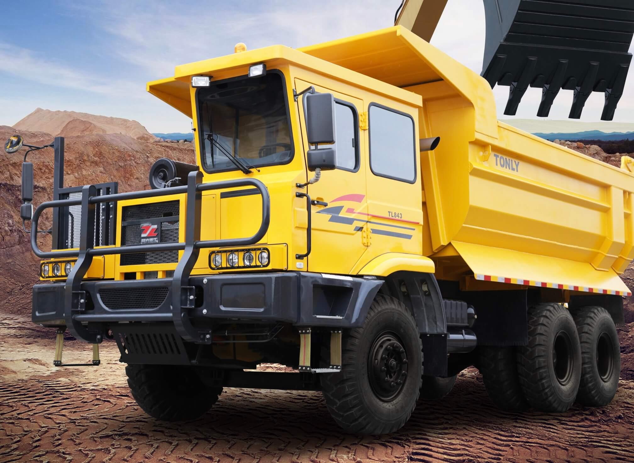 TL849 All Terrain Dump Truck