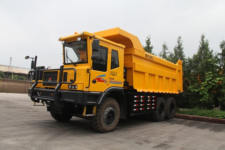 TONLY TLE90 Series Electric Mining Truck Enters the Market in Batch